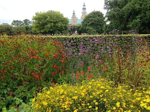 Herbaceous border, King's Garden, Copenhagen