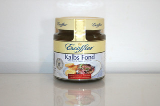 05 - Zutat Kalbsfond / Ingredient veal stock