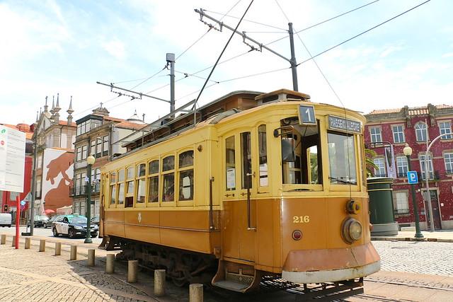 Eléctrico n°1 Porto