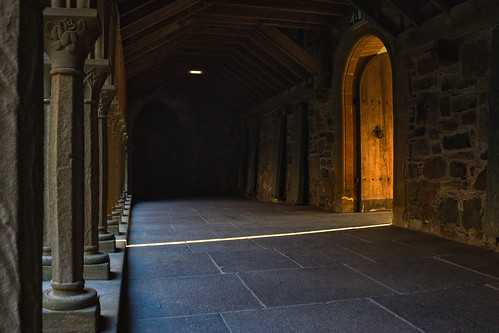 Cloisters at Sunset