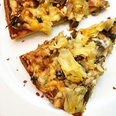 #pizza #artichoke #pizzatime