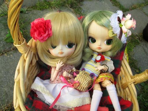 Hina Ichigo (dal madoka) & Kanaria (dal clair)