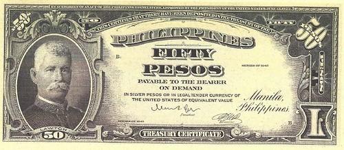 Philippines 50 Pesos Series of 1941