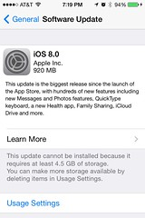 iOS 8.0 The Biggest Release