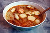 Tom Yum Goong (Hot and Sour Mixed Sea Food Noodle Soup)