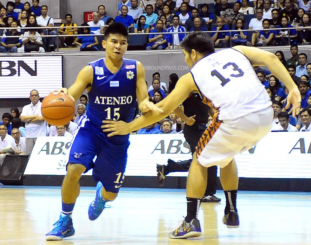 UAAP Season 77: Ateneo Blue Eagles vs. UST Growling Tigers, Aug. 30