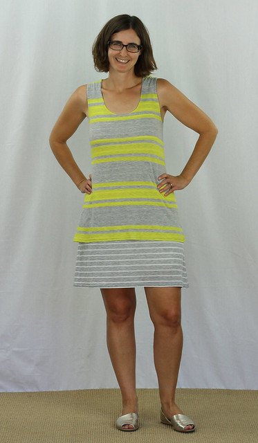 Tiered Plantain Dress