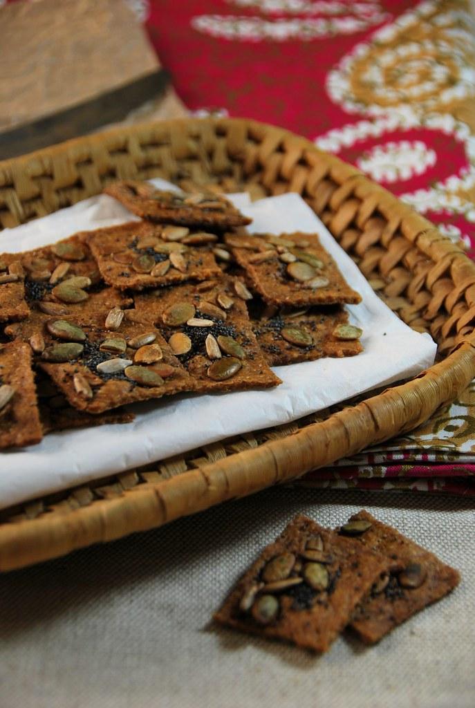 Recette biscuit aperitif bio