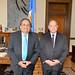 Secretary General Bids Farewell to Permanent Representative of El Salvador