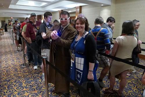 Wibbly wobbly timey wimey Doctor and Joy