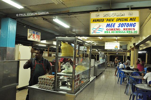Hameed's Mee Sotong, Penang, Malaysia