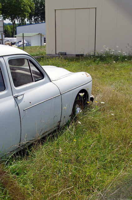 Les voitures abandonnées/oubliées (trouvailles personnelles) 15119425322_1988747451_z