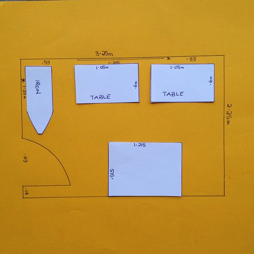 Sewing room plan