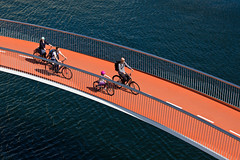 Le pont « Cycle Snake »