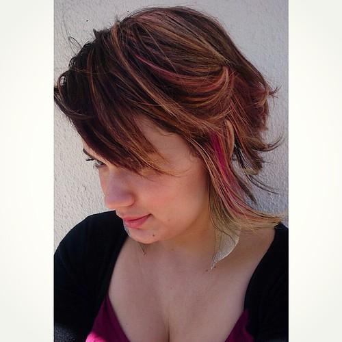 @heuningmeester  #hair #selfie #rozhairdesign #pinkhair #pink #summer #spring
