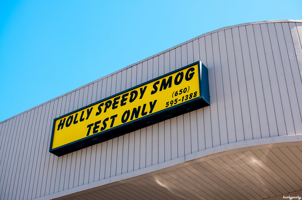 holly speedy smog test only