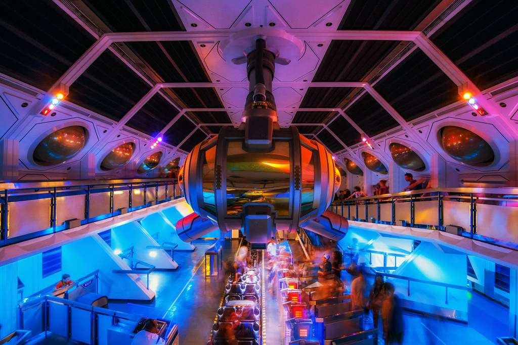 Space Mountain: Arrivals and Departures