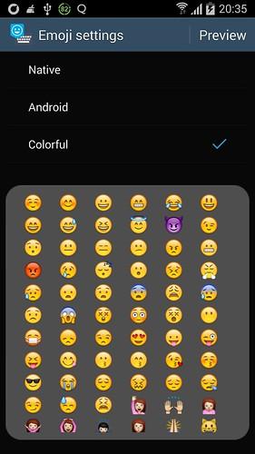 Aplikace Emoji Keyboard - Emoticons(KK) 15222727515_58557e3870