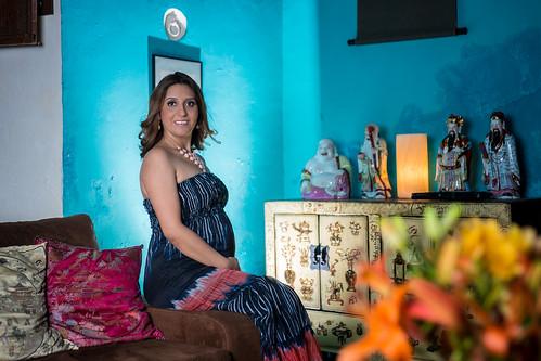 Embarazo Ale Moguel