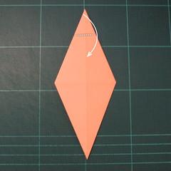 วิธีพับกระดาษเป็นรูปปลาโลมาแบบง่าย (Easy Origami Dolphin) 006