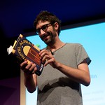 Mark Watson reading from his latest novel Hotel Alpha |