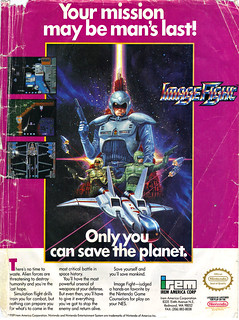 """IMAGE FIGHT :: """"Your Mission may be man's last!"""" (( 1990 ))"""