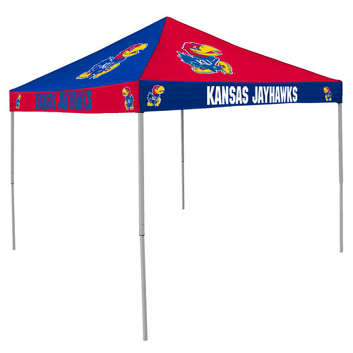 Kansas KU Jayhawks Checkerboard Tailgating Tent