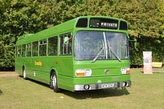 vehicle, transport, mode of transport, public transport, dennis dart, minibus, land vehicle, bus,