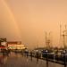 Steveston Sunshower - Richmond, BC by Michael Thornquist