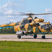 Mi-17 during Aviadarts-2016 flight skills competition by The best from aviation