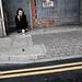 squatting smoking girl by izmota1