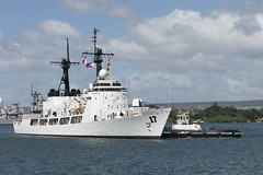 BRP Andres Bonifacio (FF 17) arrives at Joint Base Pearl Harbor-Hickam, Nov. 15. (U.S. Navy/PO1 Corwin Colbert)