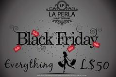 Black Friday La Perla Store LOST ITS HEAD