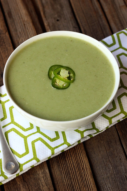 Potato and Spinach Soup with Jalapeño from the Nourished Kitchen Cookbook + Giveaway