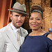 Matt Goss and Queen Latifah