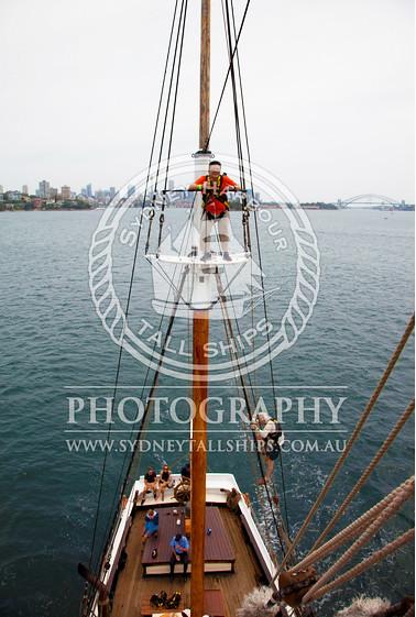 sydney tall ship climb