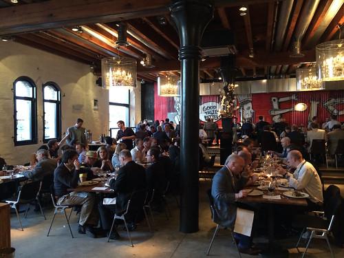 Speaker's dinner at Bitcoin 2014