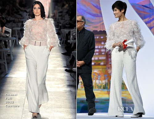 Li-Yuchun-李宇春-In-Chanel-Couture-Cannes-Film-Festival-Closing-Ceremony