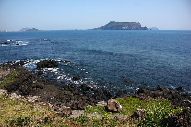 View of Seongsan Ilchulbong from Seopjikoji - Jeju