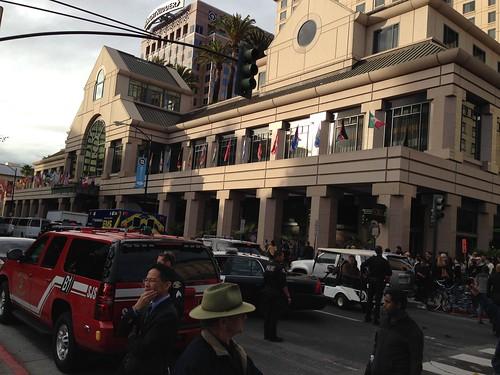 KXL protest, San Jose IMG_2525 The Fairmont San Jose