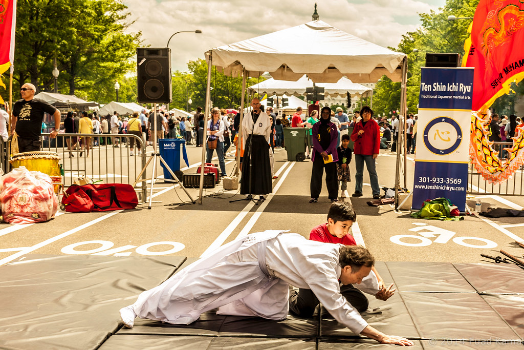 Aikido | ten year old Amin demonstrates aikido techniques wi… | Flickr