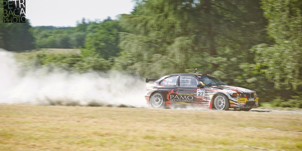 Rally Orlické hory 2014, Opočno, ČMPR, BMW Compact,