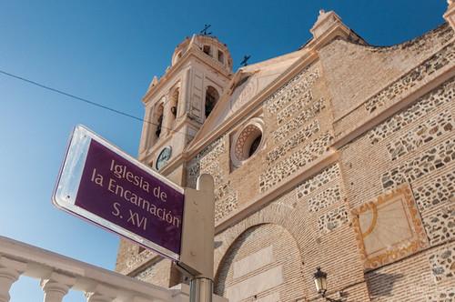 La iglesia de la Encarnación en Almuñécar