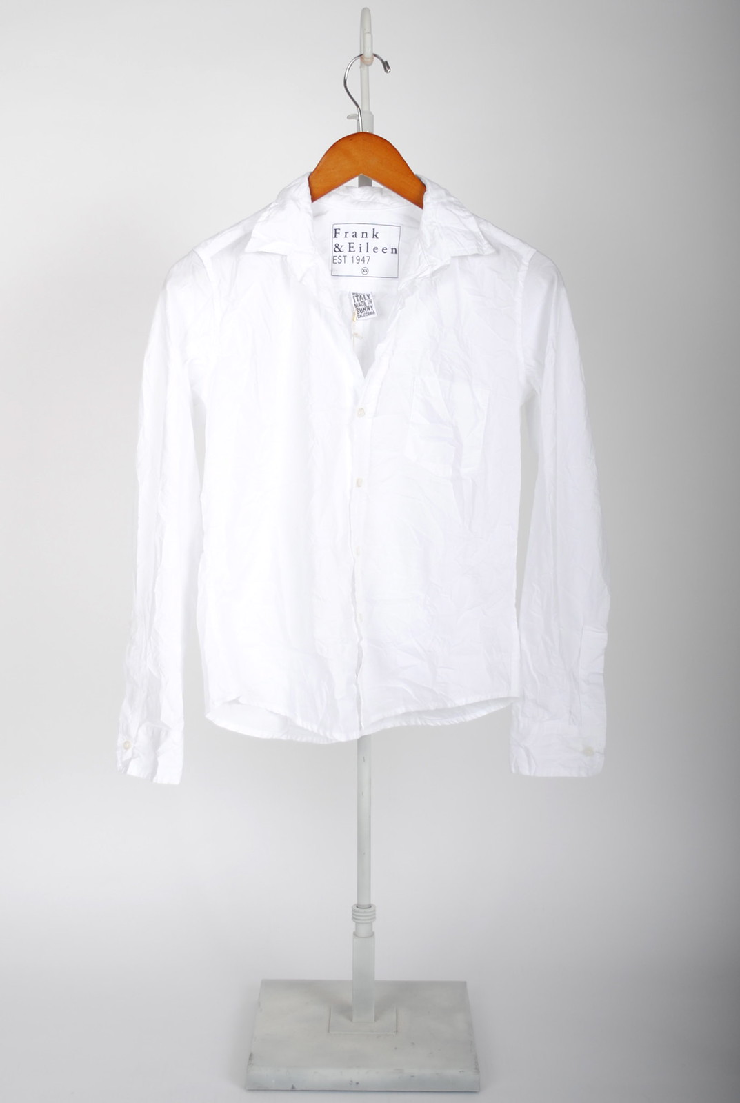 Barry Shirt - Classic White Poplin