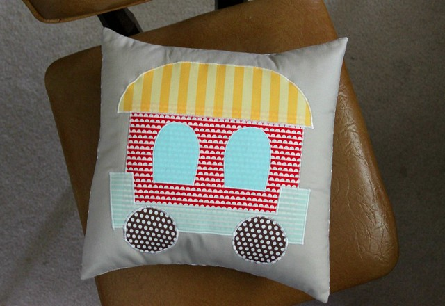 Train Pillow Caboose!