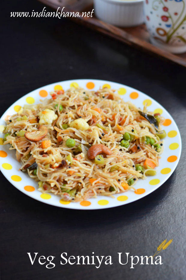 Vegetables-Semiya-Upma-Recipe