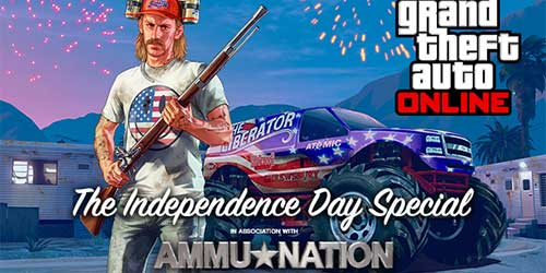 GTA Online  gets an update to celebrate independence day