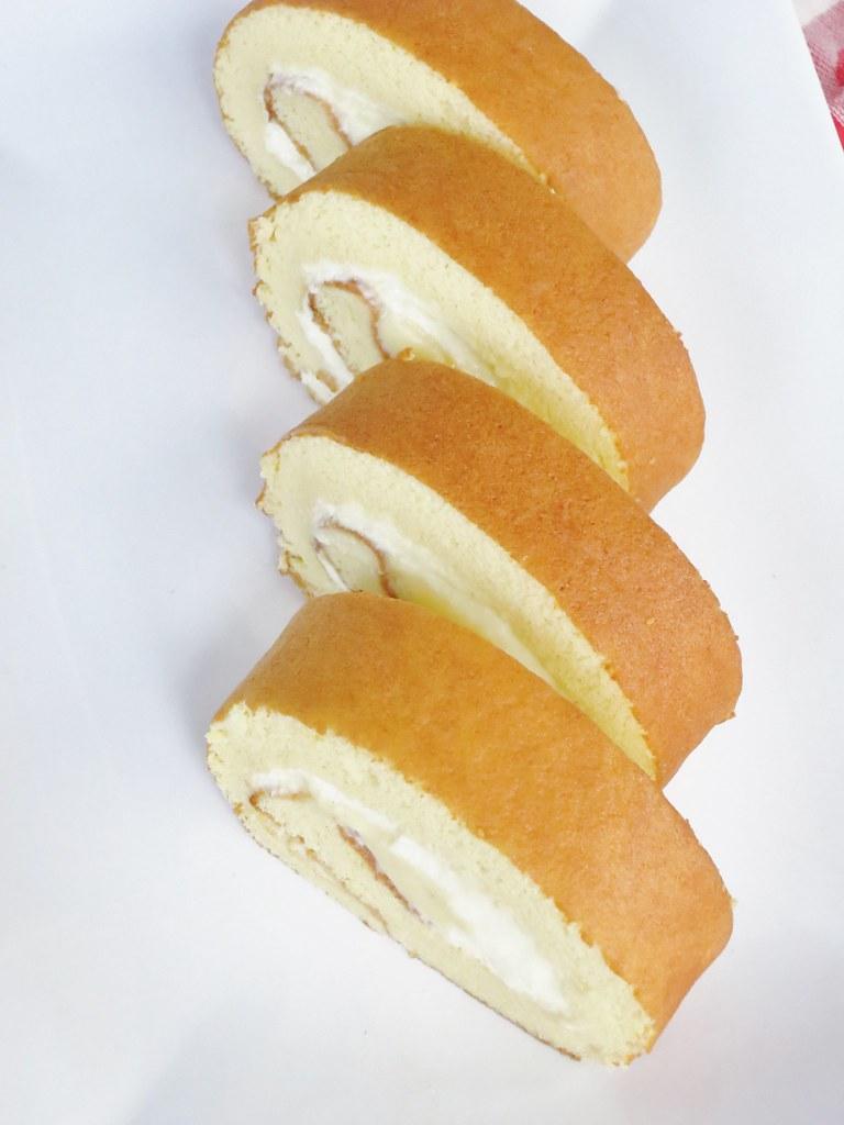 honey soufflé roll cake