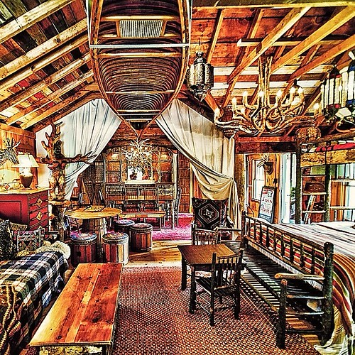 #ny #keene #adirondacks #vintage #camp #decor #rustic #jpmuzz #canoe #adventure    The guest cabin/treasure room is open.