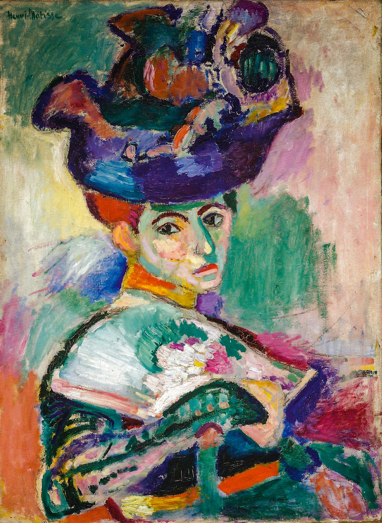 Henri Matisse - Woman with a Hat, 1905 at San Francisco Museum of Modern Art - viewed at the Legion of Honor
